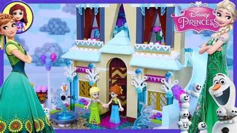 lego frozen fever arendelle celebration castle disney