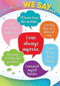 Standards Of Review Chart In Our Class We Say Positive Poster Tcr7940
