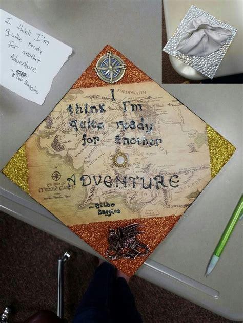 lord   rings graduation cap bilbobaggins jrrtolkien