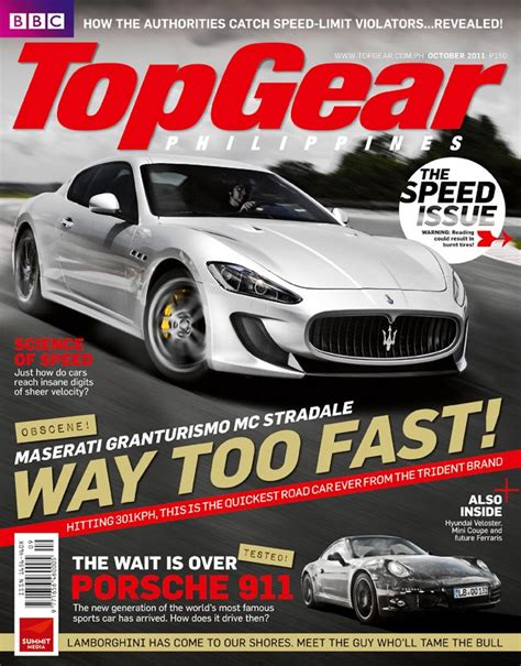 Top Gear Philippines by Startriga Top Gear Philippines Magazine October 2011