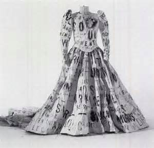 toilet paper wedding dress curiosity white carpet