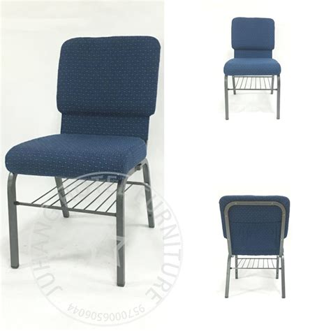 factory wholesale upholstered stackable church chairs