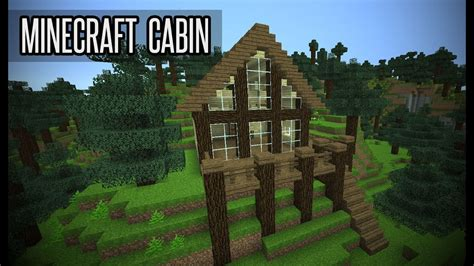 small cabin  minecraft youtube