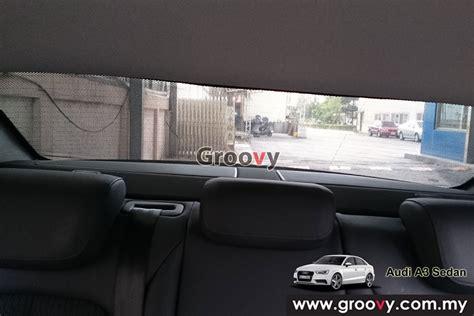 Groovy Custom Fit Sun Shades Audi A3 8v Sedan 4pcs