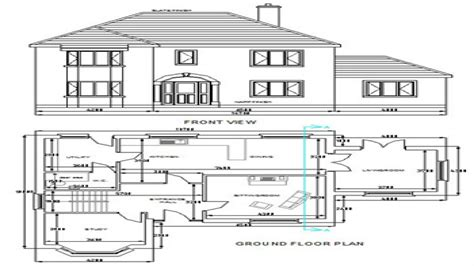 Free Dwg House Plans Autocad House Plans Free Download