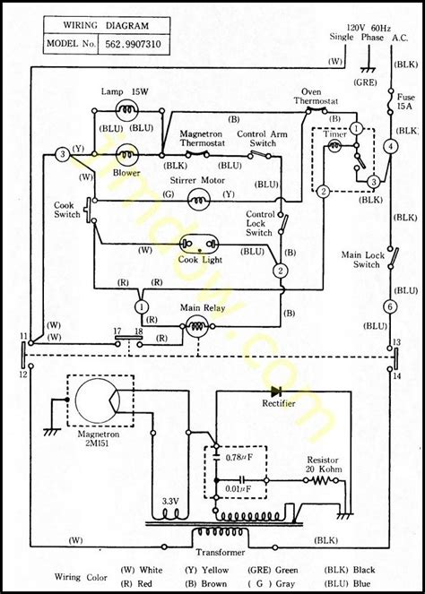 Ge Microwave Oven Wiring Diagram by Wiring Diagram Of A Microwave Oven
