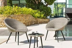 Salon De Jardin Exterieur : salon de jardin 2 places mobilier exterieur maisonjoffrois ~ Teatrodelosmanantiales.com Idées de Décoration