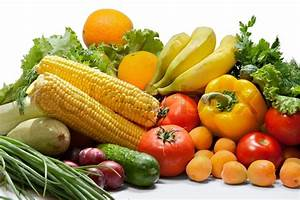 """Colorful fresh group of vegetables and fruits"" 