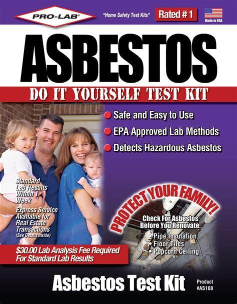 pro lab professional asbestos test kit tools