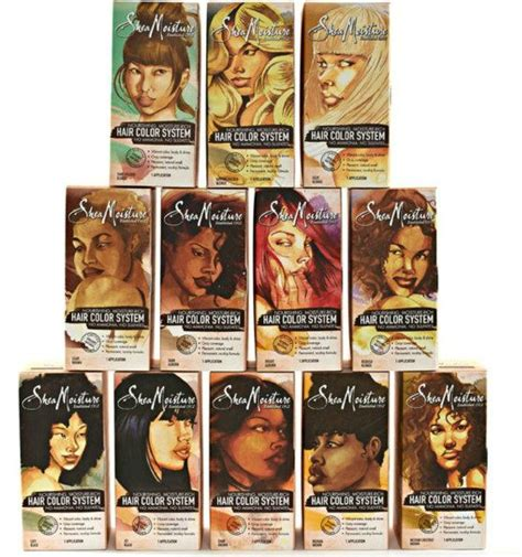 shea moisture hair color system shea moisture hair color system takers hairscapades