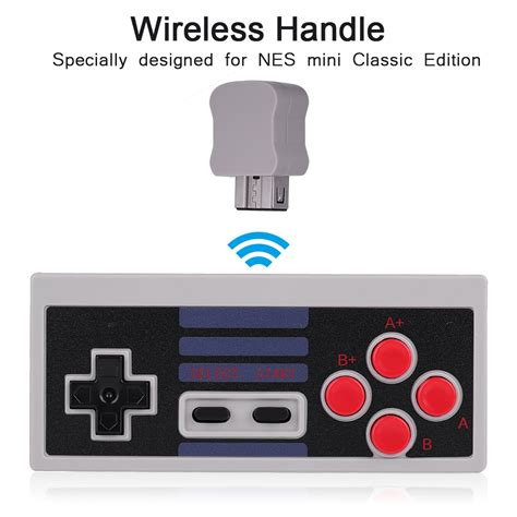 Wireless Game Console Replacement For Nintendo Nes