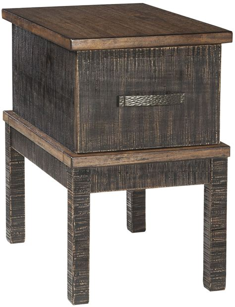 stanah two tone chair side end table t892 7