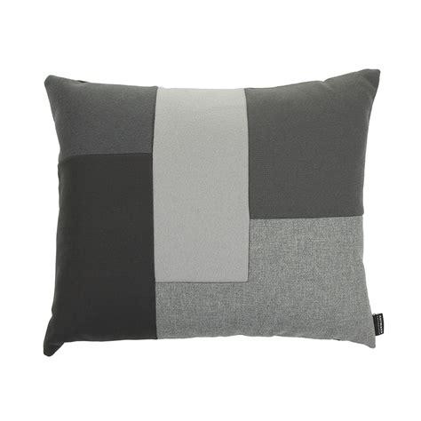 buy normann copenhagen brick cushion 50x60cm grey amara