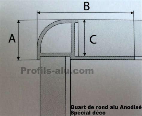 quart de rond alu bord arrondi alu special deco couleur www profils alu