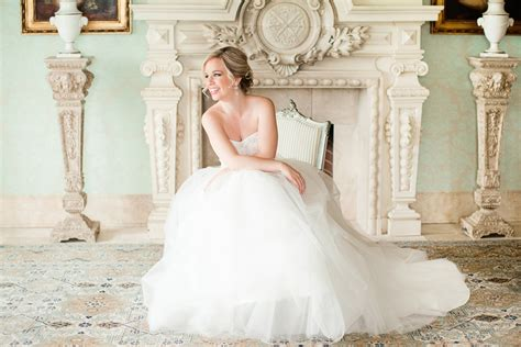 Elegant Dover Hall Bridal Portraits