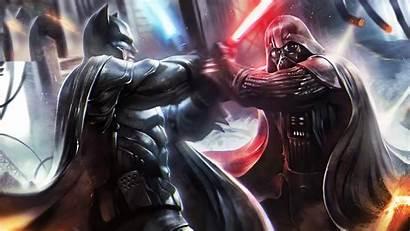 Vader Darth Batman Wars 4k Dc Vs