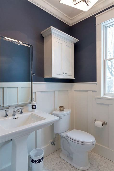 White Wainscoting Bathroom by Board And Batten Bathroom What A Great Bathroom Design I