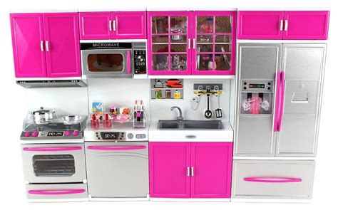 modern kitchen full deluxe kit battery operated toy