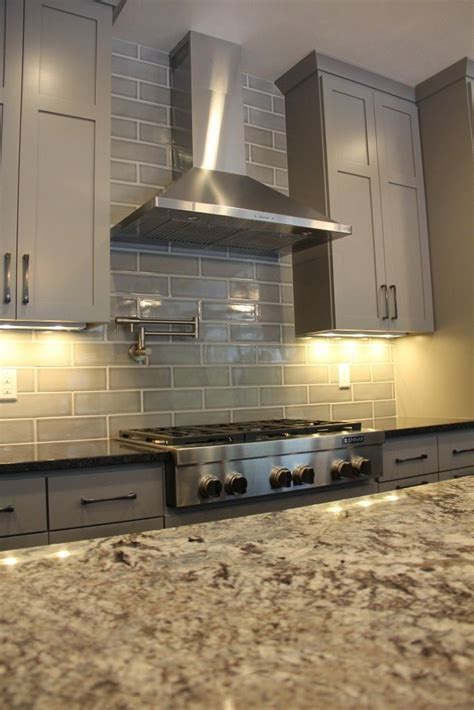 Backsplash: Highland Park, Dove Gray   Kitchen Backsplash