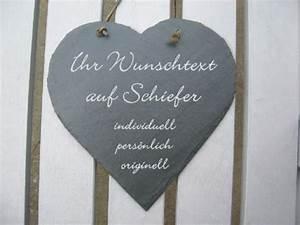 Schieferherz Mit Gravur : schieferherz mit wunschgravur 20cm gravur point ~ Sanjose-hotels-ca.com Haus und Dekorationen