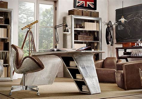 aviator wing desk furniture aviator wing desk by restoration hardware hiconsumption