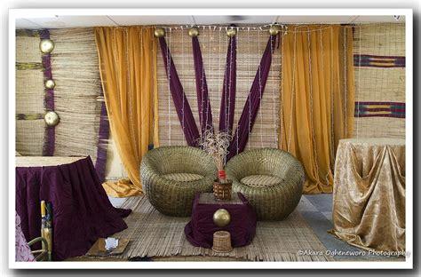 traditional nigerian wedding mariage decorations