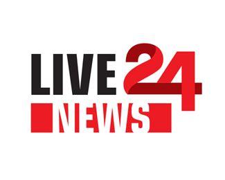 Live 24 News Designed By Guark Brandcrowd