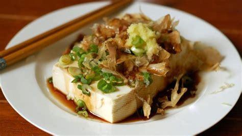 hiyayakko chilled tofu japanese recipe