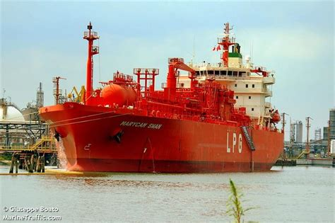 Vessel details for: MARYCAM SWAN (LPG Tanker) - IMO ...