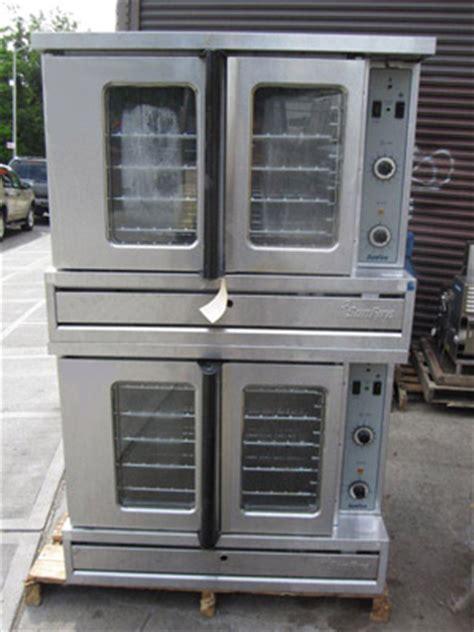 sunfire double deck gas convection oven model sdg