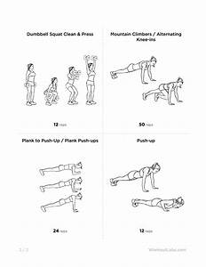 kalya itsines bikini body guide arms circuit workout for With circuit workout two
