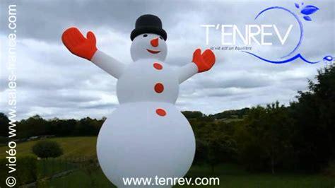 bonhomme de neige gonflable g 233 ant 4 m 232 tres d 233 coration de no 235 l pour professionnel