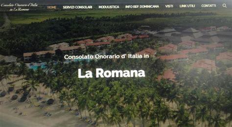 Consolato Santo Domingo by Comunit 224 Italiana Di Santo Domingo Si Chiede Sempre Pi 249