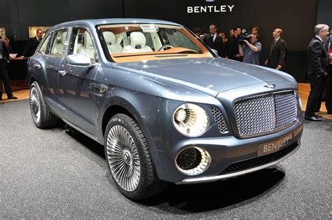 bentley exp 9 f bentley considering diesel engine for new suv autoblog