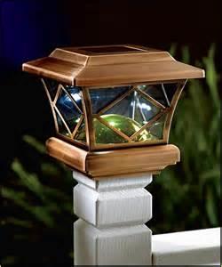 Solar Lights For Deck Posts by Solar Powered Deck Lights Home Design Ideas