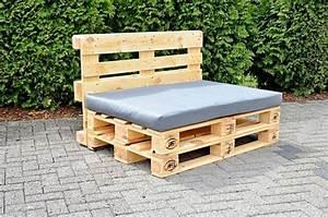 Fabriquer Un Canapé En Palette : canap en bois de palette de palettes en bois en canap with canap en bois de palette canap en ~ Voncanada.com Idées de Décoration