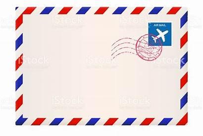 Envelope Mail Air International Frame Airmail Envelopes