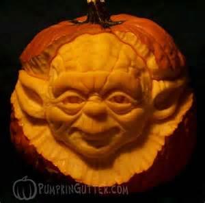 Master Yoda Pumpkin Stencil by Yoda Jedi Master Carved Pumpkin Jack O Lantern By Scott