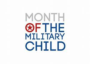 April Is The Month Of The Military Child Coronado Middle