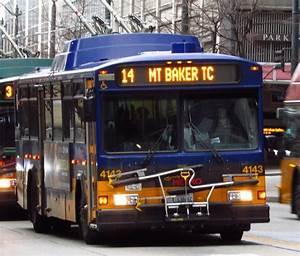 King County Metro 2001 Gillig Phantom Trolley 4143