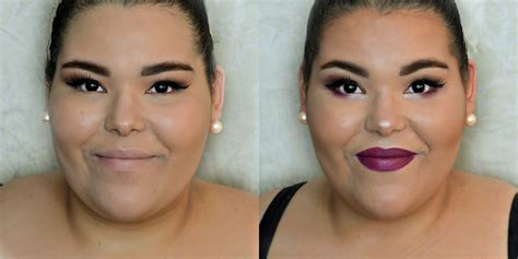 contour highlight  full  face ashley bracero