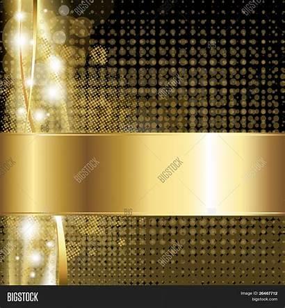 Luxury Background Gold Vector Illustration Depositphotos