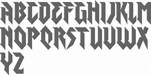 myfonts heavy metal typefaces With heavy metal alphabet letters