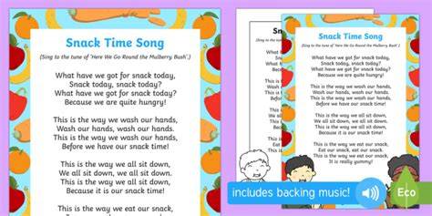 snack time song 805   t t 252706 snack time song ver 1