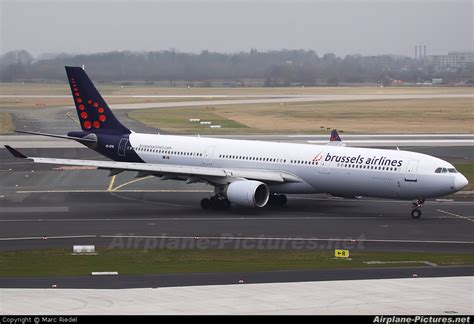 bureau airlines bruxelles oo sfw brussels airlines airbus a330 300 at düsseldorf