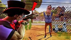 The Neighbor IS A CLOWN WITH A GUN!!! | Hello Neighbor ...