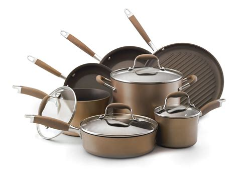 anolon bronze cookware advanced hard anodized collection piece money worth items than