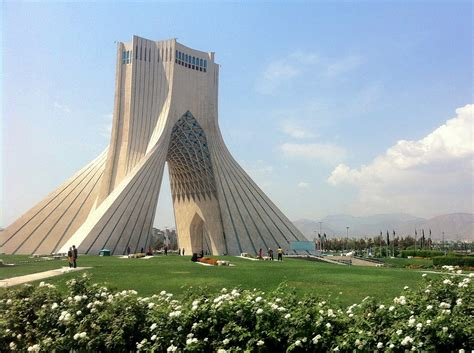 Iran In by Azadi Tower