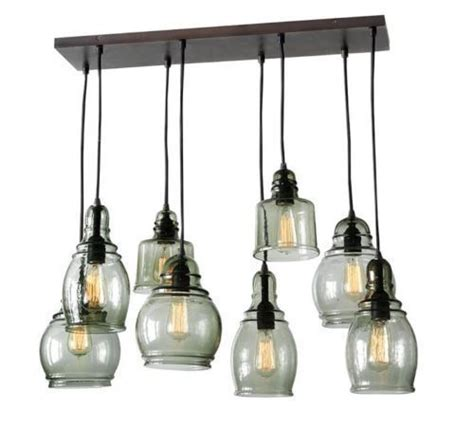pottery barn paxton pendant new pottery barn paxton glass 8 light pendant chandelier 8