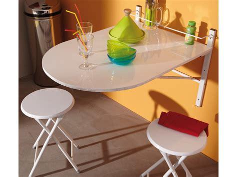 table de cuisine pliante murale table de cuisine pliable tabourets galerie et table de
